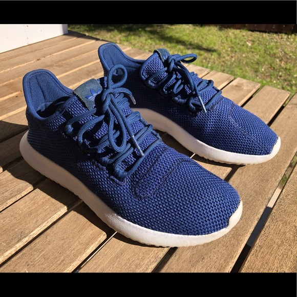 marxismo mezcla vanidad  adidas Shoes | Tubular Shadow Knit J Mystery Blue | Poshmark